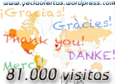 81000 visitas mapa del mundo yecla ofertas
