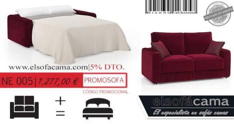 el sofacama promocion especial marzo tienda online en yeclaofertas
